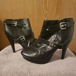 G by Guess Black booties